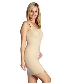 InstantFigure Compression Slimming Tank Slip Dress, Online Only