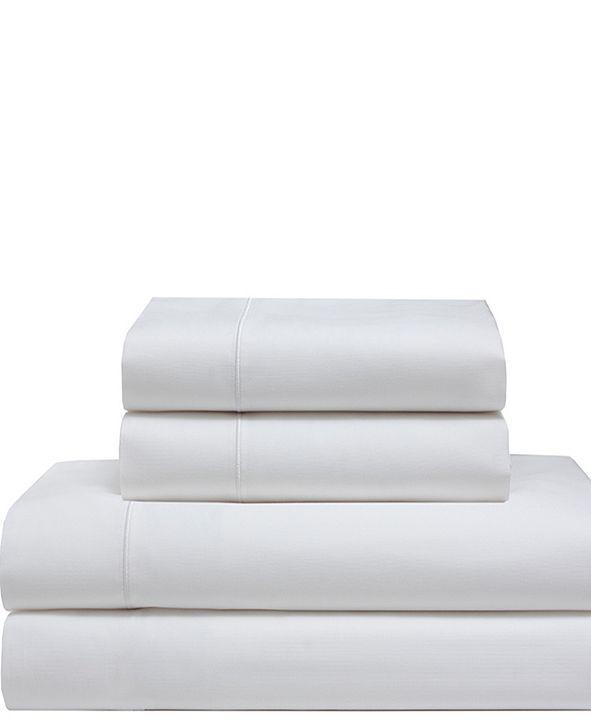 Elite Home Cool Comfort Cotton Solid Queen Sheet Set