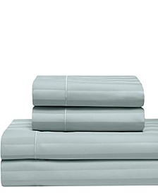 Satin Cooling Cotton California King Sheet Set