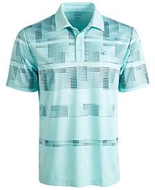 Men's Stanton Pixel Stripe Performance Polo, Created for Macy's