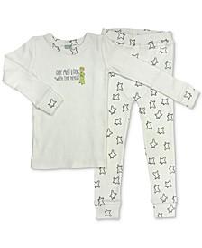 Little Prince Baby & Toddler Girls & Boys Organic Cotton 2-Pc. Pajamas Set