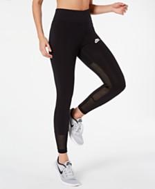 Nike Sportswear Mesh-Trimmed Leggings