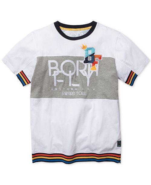 Born Fly Men's Logo Graphic T-Shirt