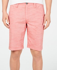 "I.N.C. Men's 10"" Derryl Chambray Shorts, Created for Macy's"