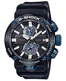 Men's Solar Gravitymaster Black Resin Strap Watch 46.4mm
