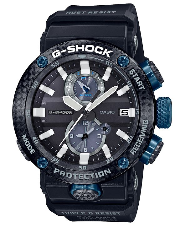 G-Shock Men's Solar Gravitymaster Black Resin Strap Watch 46.4mm
