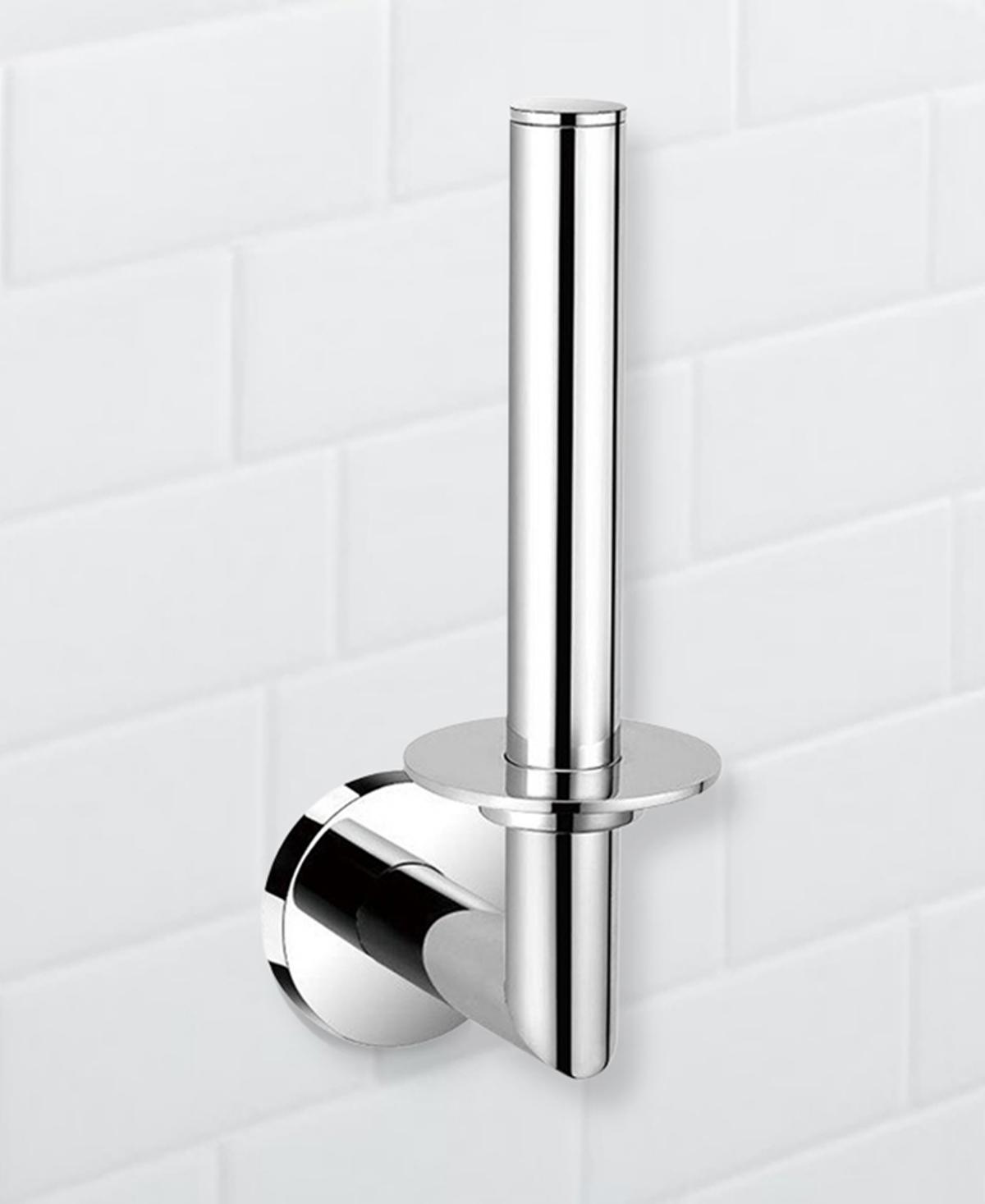 Nameeks General Hotel Round Chrome Vertical Toilet Paper Holder Bedding