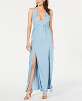 176ee075350 GUESS Sophie Crochet-Contrast Maxi Dress