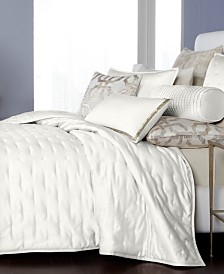 Hotel Collection Fresco Quilted King Coverlet, Created for Macy's