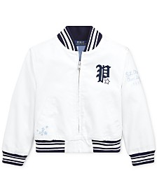 Polo Ralph Lauren Toddler Girls Chino Baseball Jacket