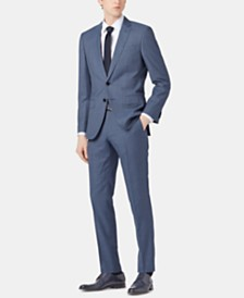 BOSS Men's Virgin Wool Suit