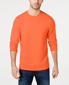 Club Room Men's Long Sleeve T-Shirt, Created for Macy's