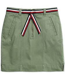 Tommy Hilfiger Adaptive Women's Misha Utility Skirt with Velcro® Closure