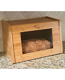 Bread Box with Tempered Glass Window