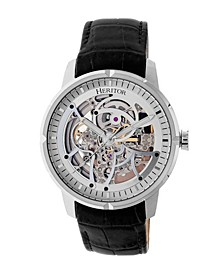 Automatic Ryder Genuine Leather Watch 44mm