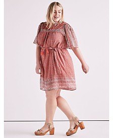 Lucky Brand Plus Size Jenna Dress