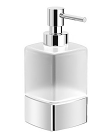 Boutique Hotel Frosted Glass Soap Dispenser