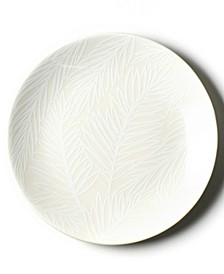 by Laura Johnson White Palm Salad Plate