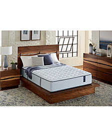 "Scott Living Castlebay 11"" Firm Mattress with Adjustable Base- King, Created for Macy's"