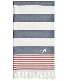 Personalized Patriotic Pestemal Beach Towel