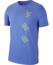Nike Men's Graphic Dri-Fit Running T-Shirt