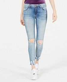 Emma Distressed Cropped Skinny Jeans