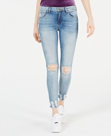 STS Blue Emma Distressed Cropped Skinny Jeans