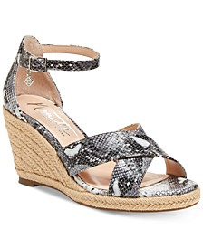 Nanette by Quirky Wedge Sandals, Created for Macy's