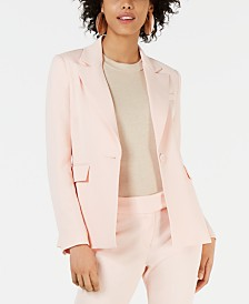 Rachel Zoe Suzanne Single-Button Notched-Lapel Blazer