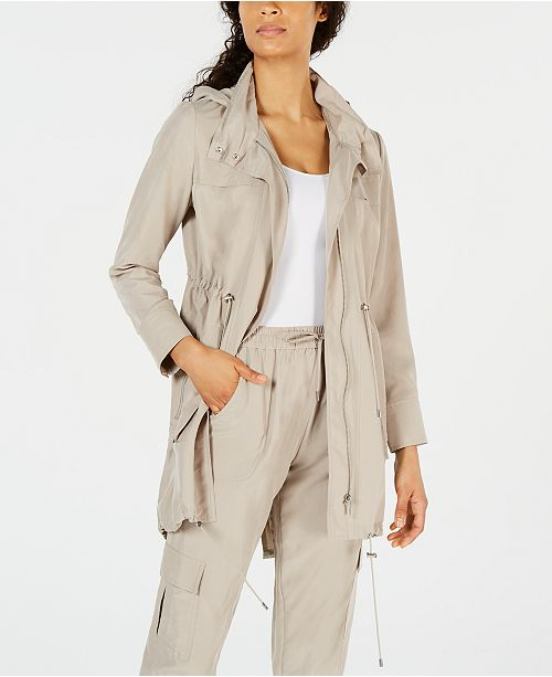 bd56a64f4e0d Elie Tahari Daria Soft Utility Trench Coat & Reviews - Women - Macy's