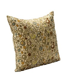 """Siscovers Marble 16"""" Designer Throw Pillow"""