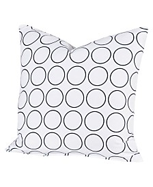 "Siscovers Recycle 26"" Designer Euro Throw Pillow"