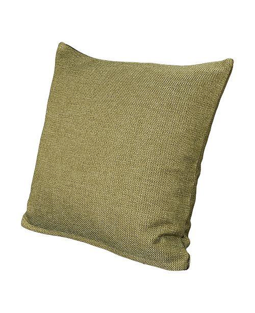 "Siscovers Harbour Willow 26"" Designer Euro Throw Pillow"