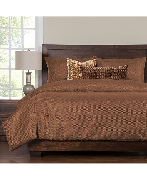 Siscovers Silk Route Ginger 6 Piece Cal King Duvet Set