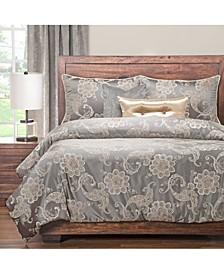 Opaline 6 Piece Full Size Luxury Duvet Set