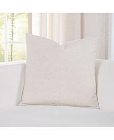 Pacific Sand Linen Designer Throw Pillow
