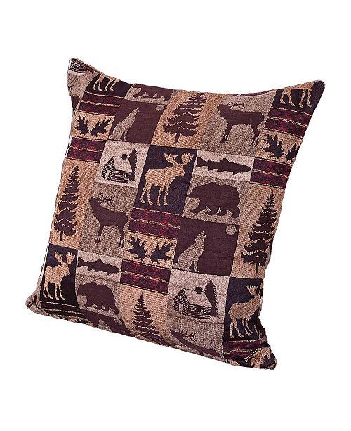 "Siscovers Fairbanks 20"" Designer Throw Pillow"