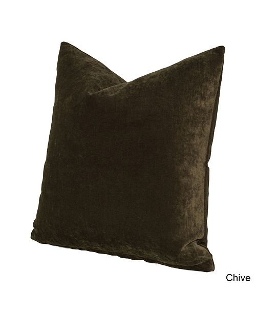 """Siscovers Padma Chive 20"""" Designer Throw Pillow"""