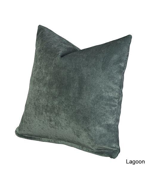 "Siscovers Padma Lagoon 26"" Designer Euro Throw Pillow"