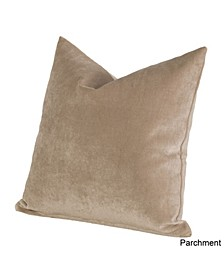 "Padma Parchment 20"" Designer Throw Pillow"