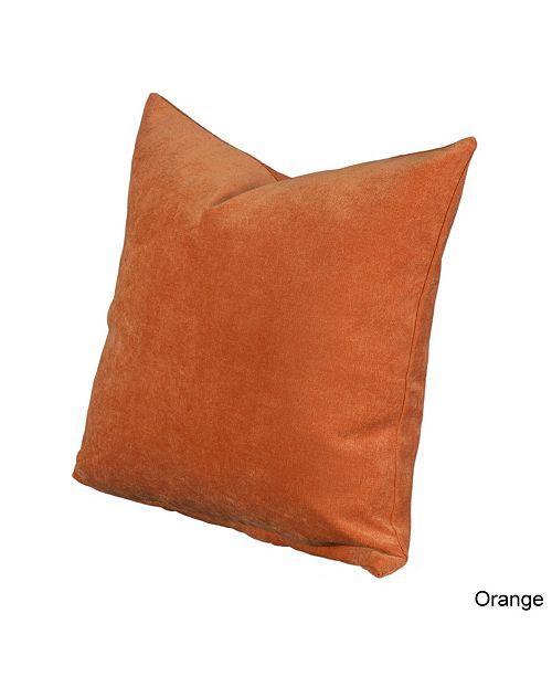 "Siscovers Padma Orange 26"" Designer Euro Throw Pillow"