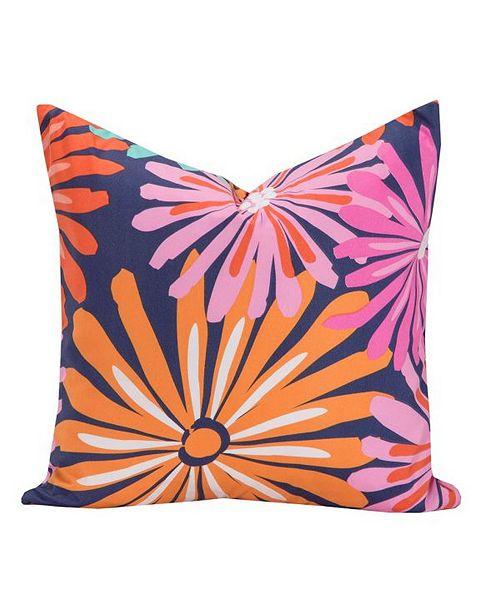 "Crayola Dreaming of Daisies 20"" Designer Throw Pillow"