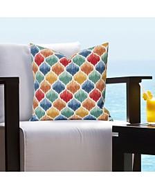 "Siscovers Tide Pool Sunset 26"" Designer Euro Throw Pillow"
