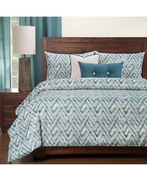 Siscovers Zepher 6 Piece Full Size Luxury Duvet Set