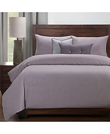 Revolution Plus Everlast Amethyst Stain Resistant 6 Piece Cal King Duvet Set