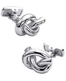 Sutton Sterling Silver Rope Knot Cufflinks