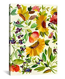 """""""Sunflowers"""" By Kim Parker Gallery-Wrapped Canvas Print - 26"""" x 18"""" x 0.75"""""""