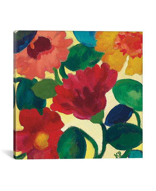 """iCanvas """"Ranunculus Ii"""" By Kim Parker Gallery-Wrapped Canvas Print - 12"""" x 12"""" x 0.75"""""""