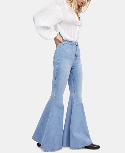 Free People Just Float On Flare Jeans & Reviews – Jeans – Women – Macy's