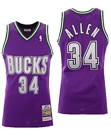 Mitchell & Ness Men's Ray Allen Milwaukee Bucks Authentic Jersey